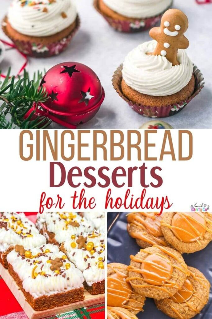 Easy Gingerbread Dessert Recipes for the Holidays