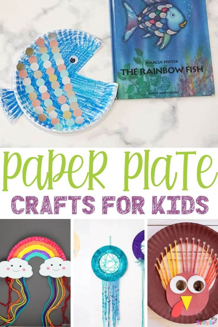 Easy Paper Plate Crafts for Kids