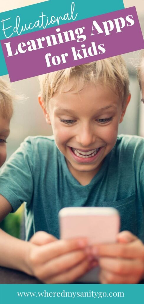 Educational Apps for Kids That Make Learning Fun