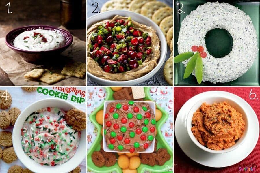 Sweet and Savory Christmas Dips