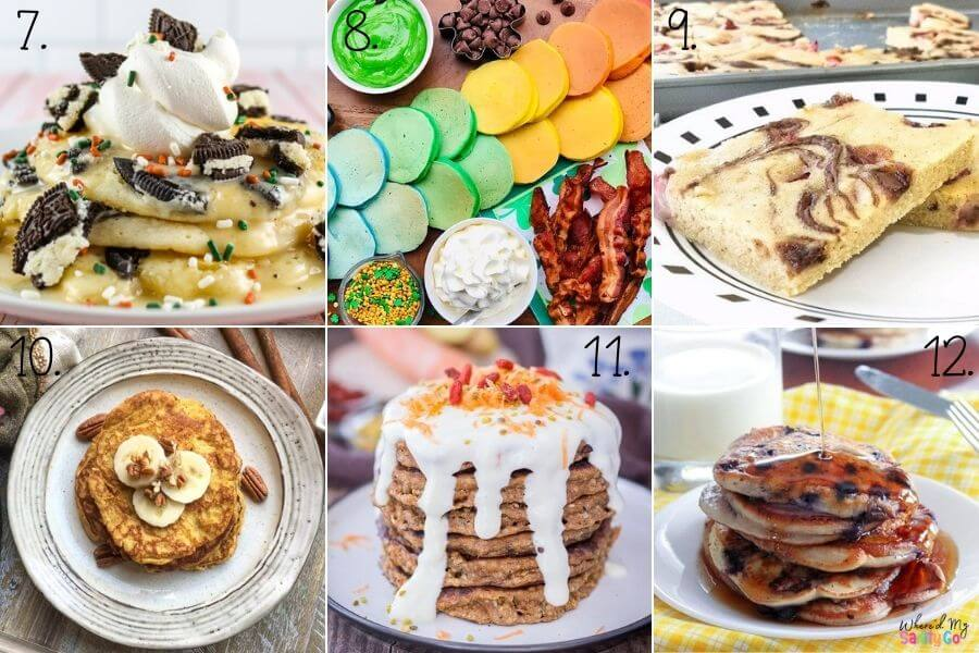Unique Pancake Recipes