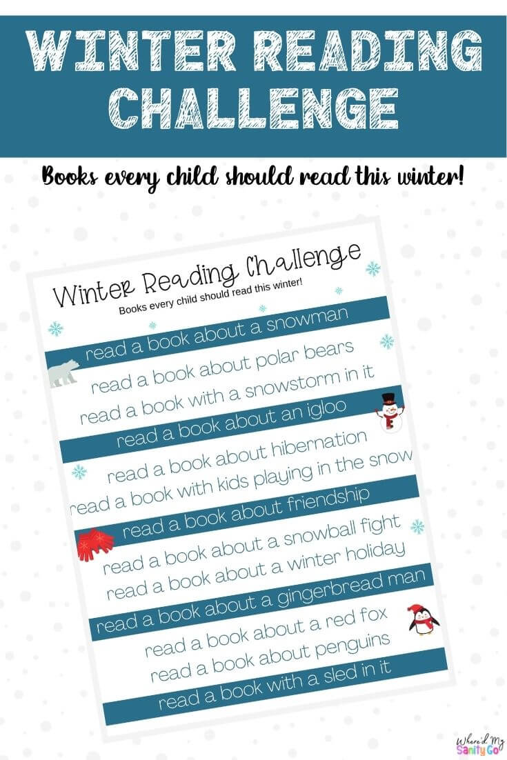 Winter Reading Books for Kids Have A Winter Reading Challenge
