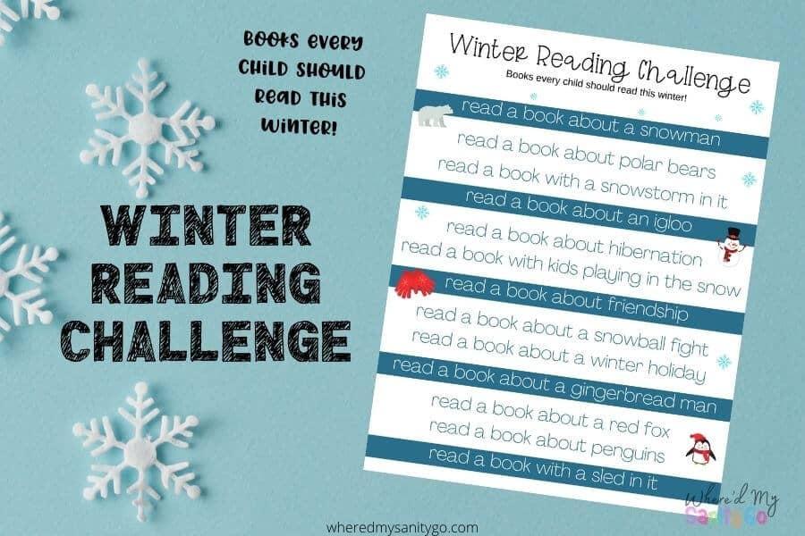 Winter Reading Challenge Winter Books for Kids (1)