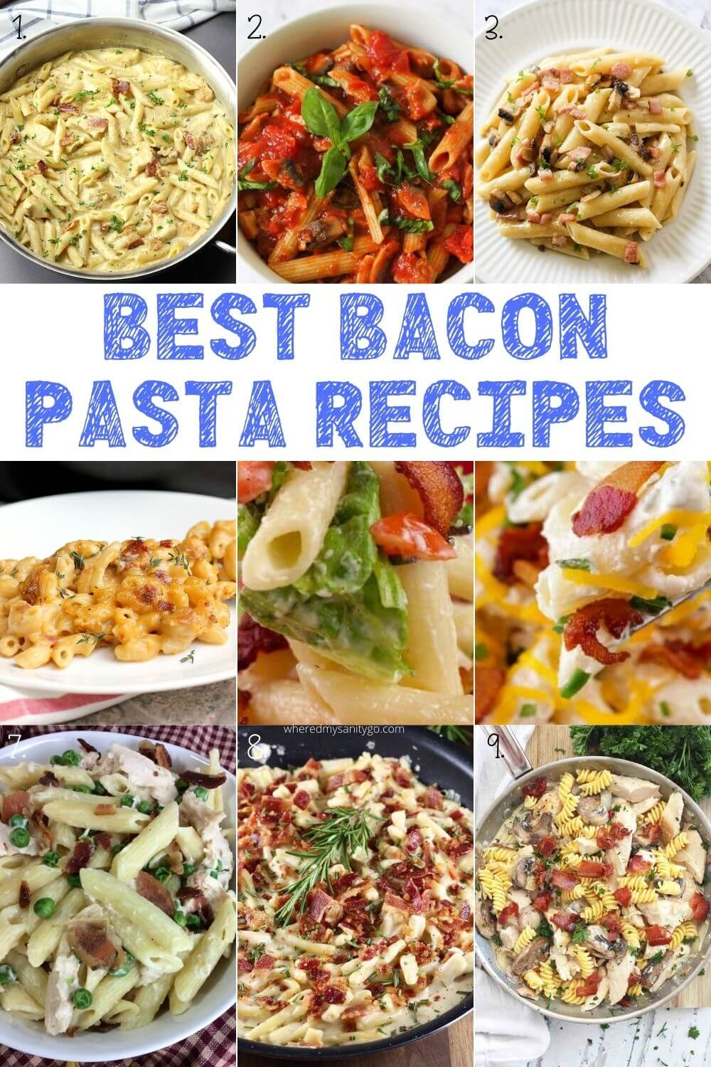 Best Bacon Pasta Recipes