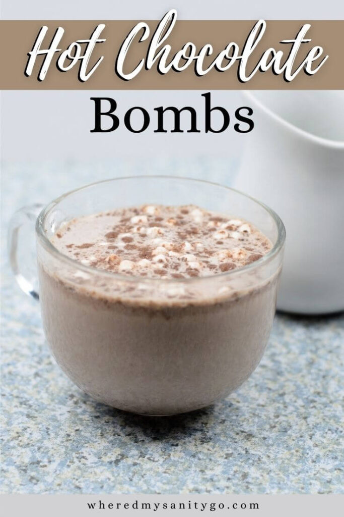 Hot Chocolate Bombs with Marshmallows