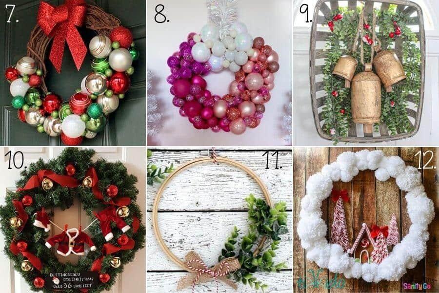 Wreath Ideas for the Holidays