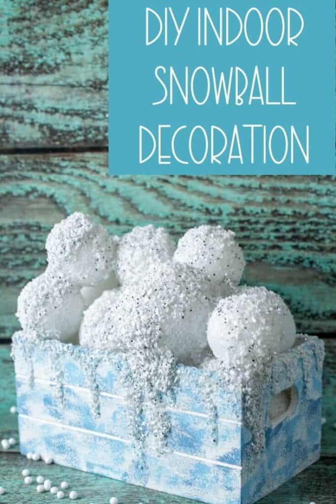 DIY Indoor Snowball Decoration (1)