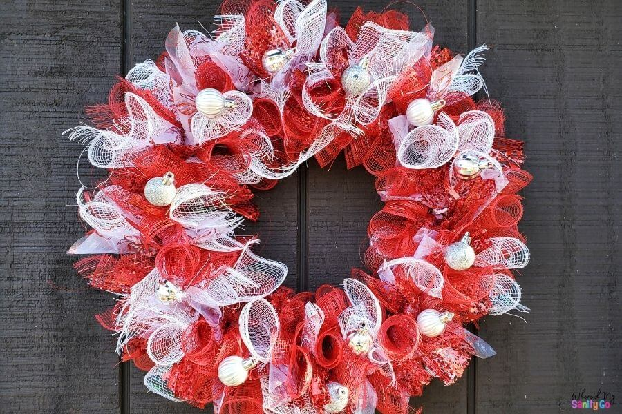DIY Dollar Tree Wreath Tutorial