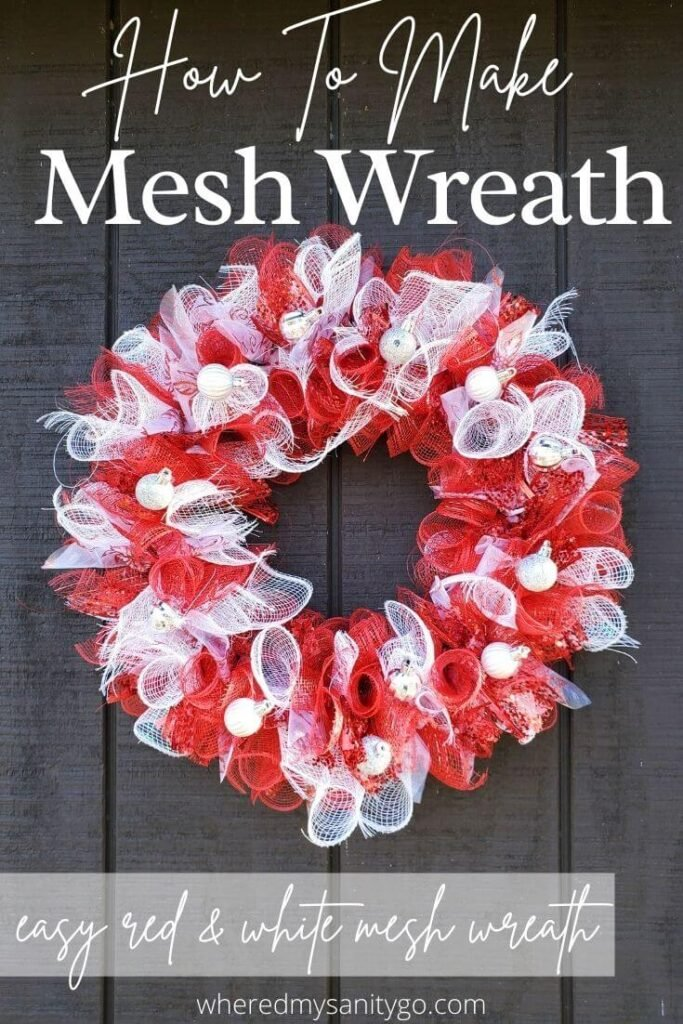 How to Make a Mesh Wreath DIY Dollar Tree Wreath Tutorial