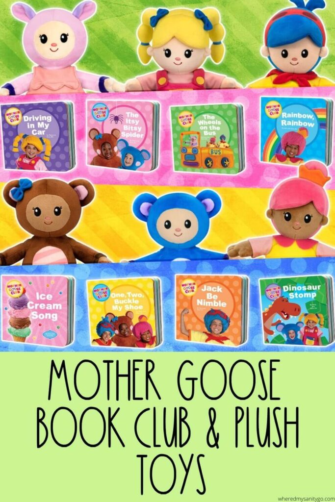 Mother Goose Book Club Educational Books and Plush Toys That Kids Will Recognize and Love