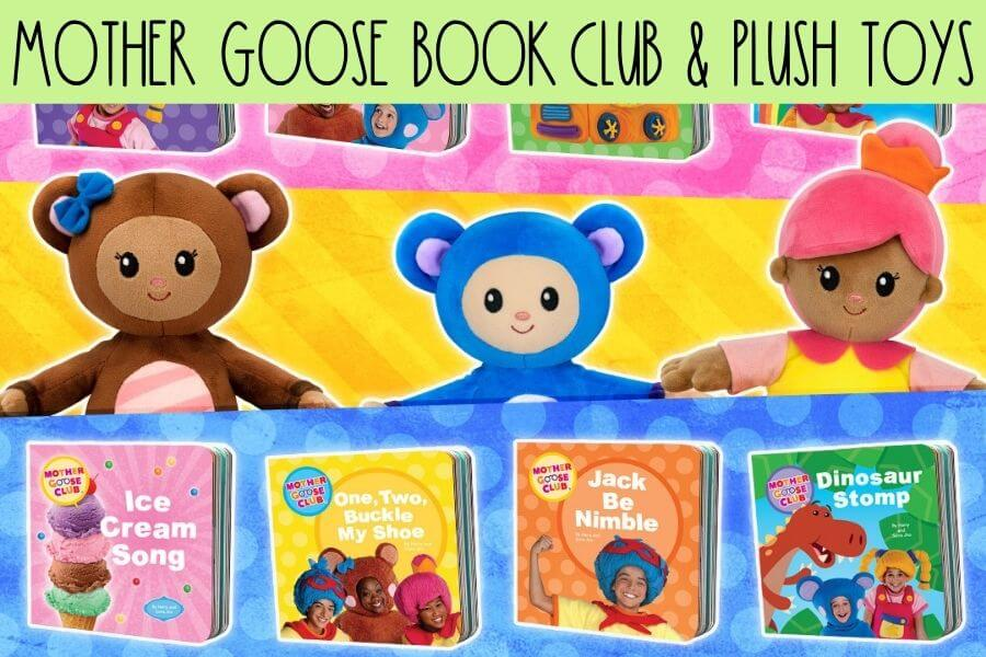 Mother Goose Book Club and Plush Toys 2
