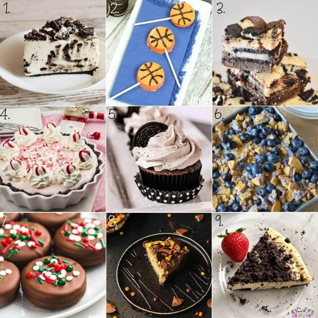 Oreo Dessert Recipes Easy Things To Make with Oreos