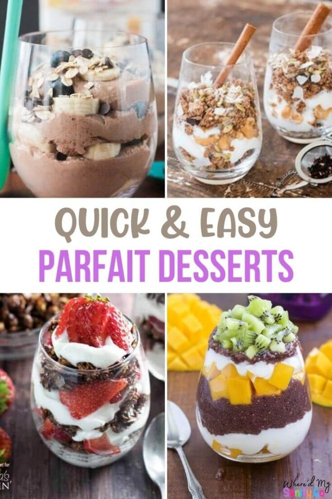 Quick and Easy Parfait Recipes