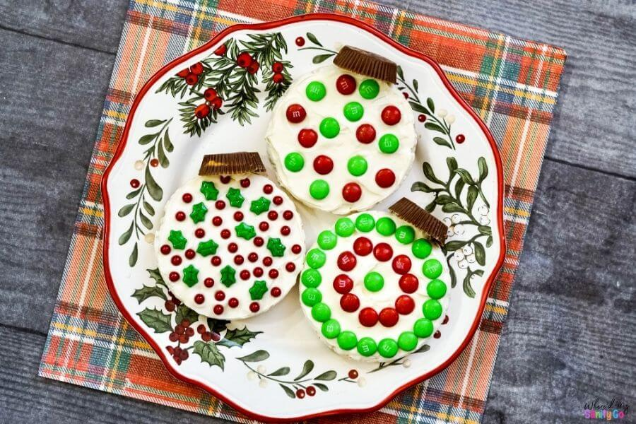 Rice Cake Recipe Christmas Ornament Snack