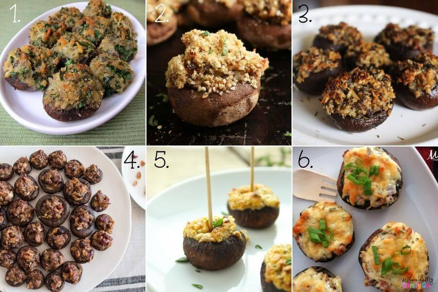 Easy Stuffed Mushroom Recipes