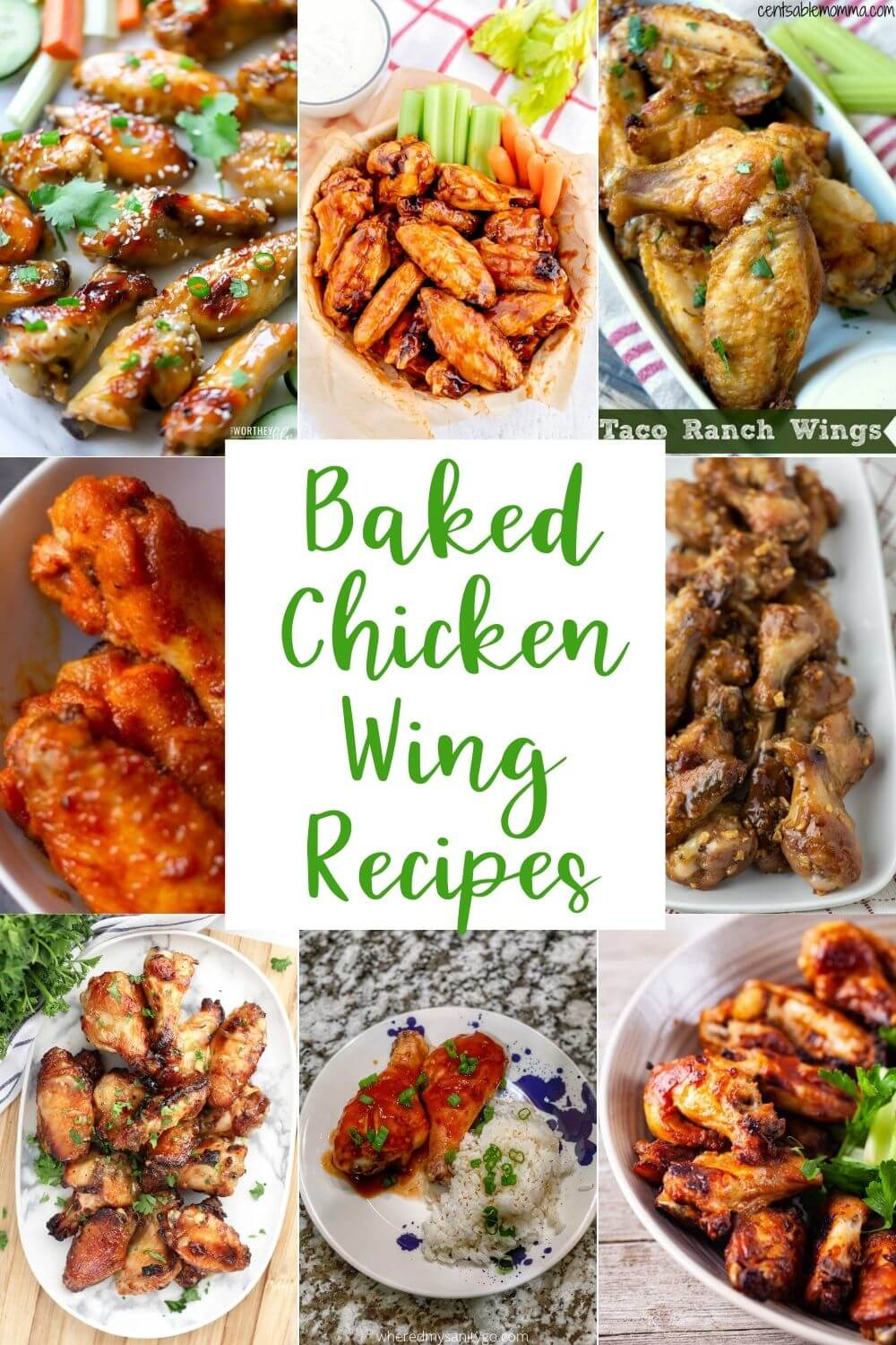 Baked Chicken Wing Recipes You Are Going To Love