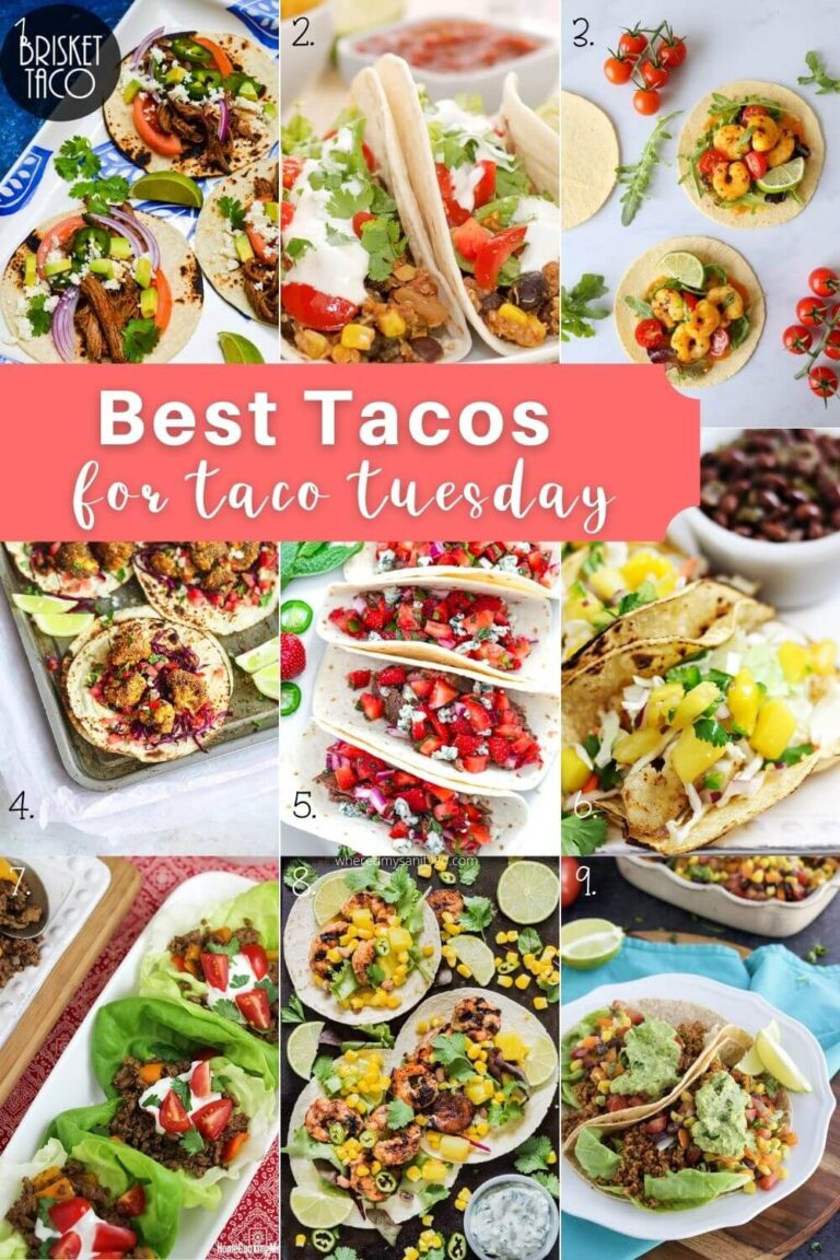 Best Homemade Taco Recipes for Taco Tuesday