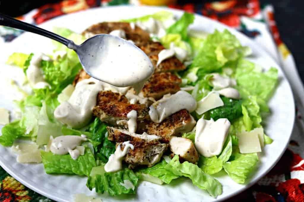 Keto Caesar Dressing Recipe