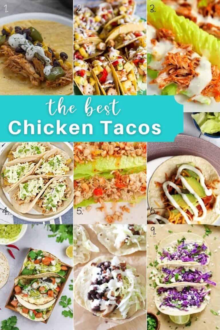 Chicken Taco Recipes