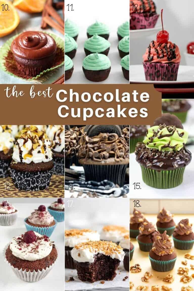 Easy Chocolate Cupcake Recipes