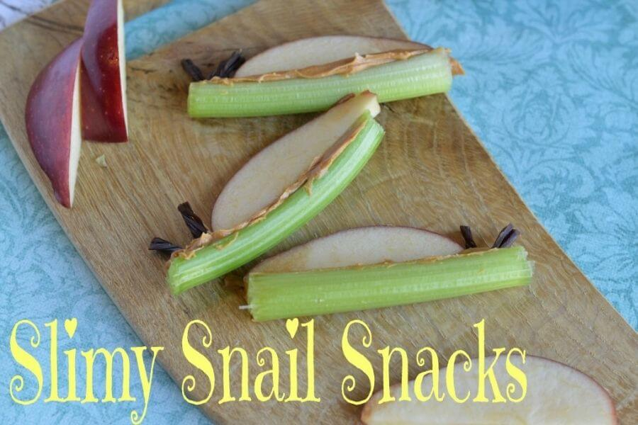 Fun Snail Snacks