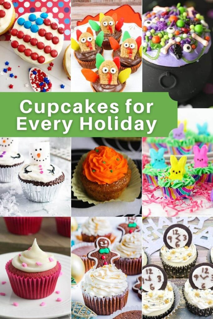Holiday Cupcakes for All Occasions and Holidays