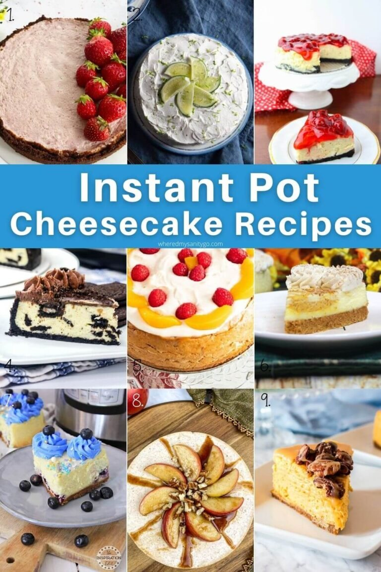 Instant Pot Cheesecake Recipes That Make An Impressive Dessert