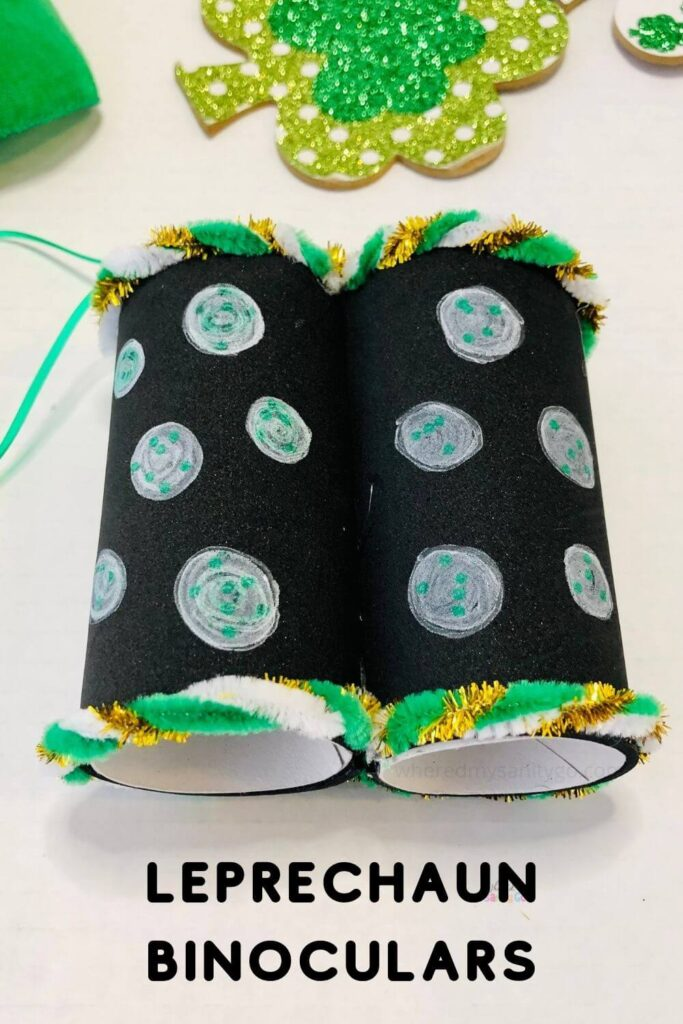 Leprechaun Binoculars Craft