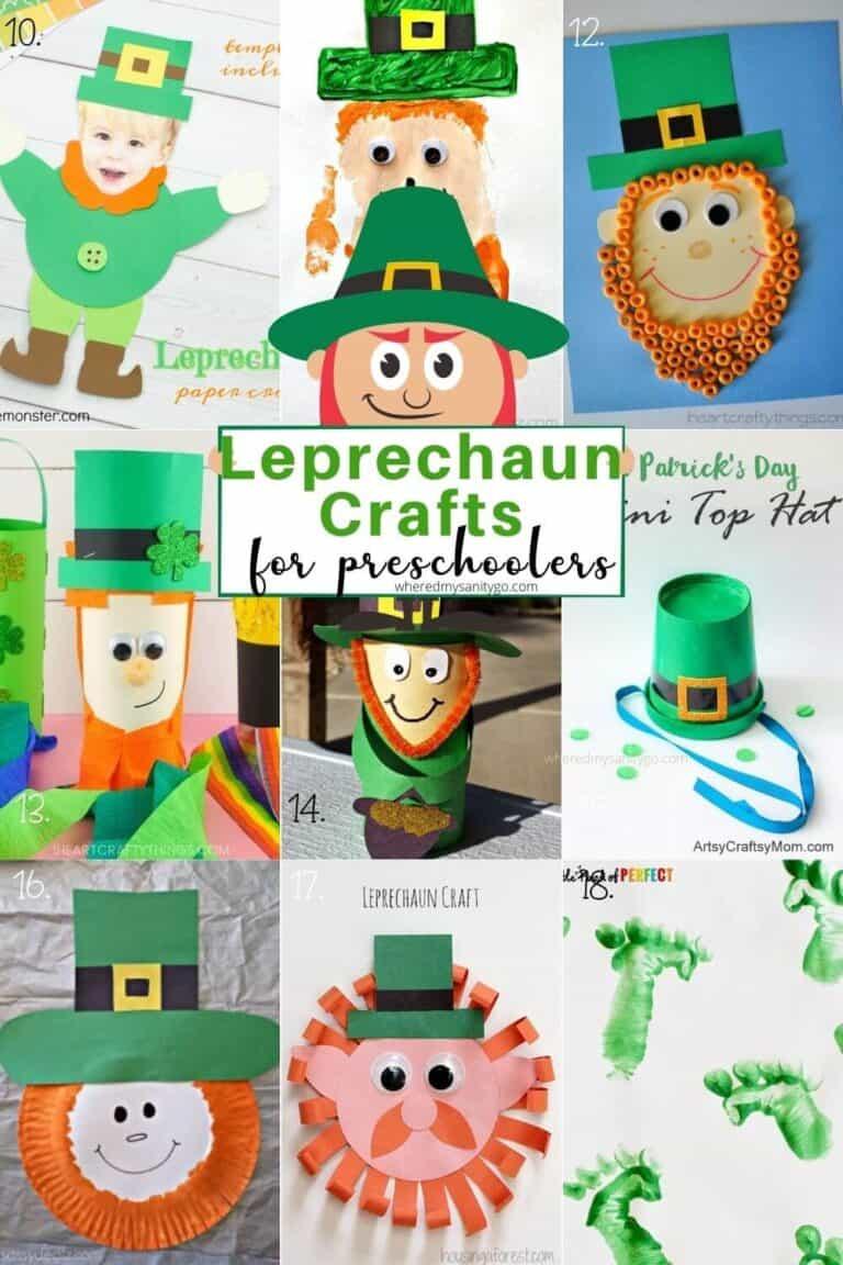 Leprechaun Crafts for Preschoolers for St Patricks Day