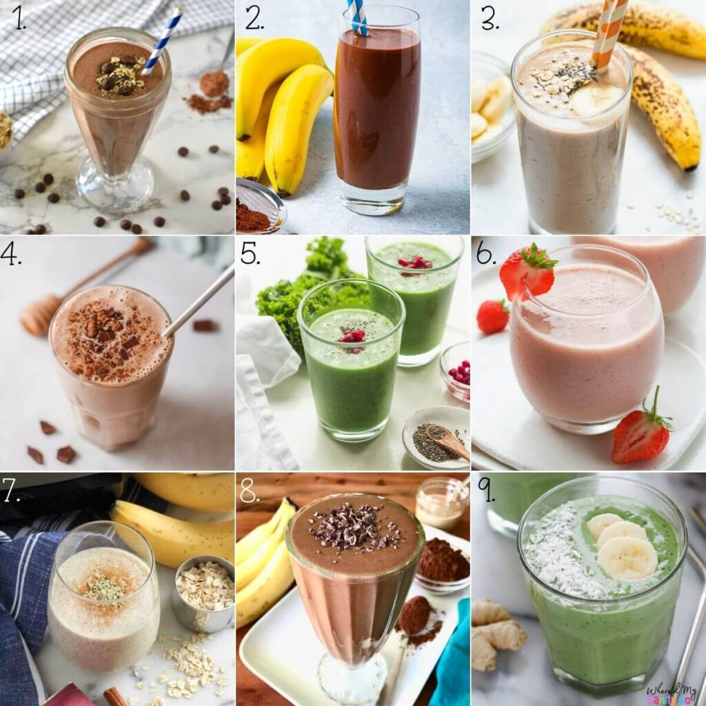 Smoothie Recipes with Banana and Other Healthy Fruits