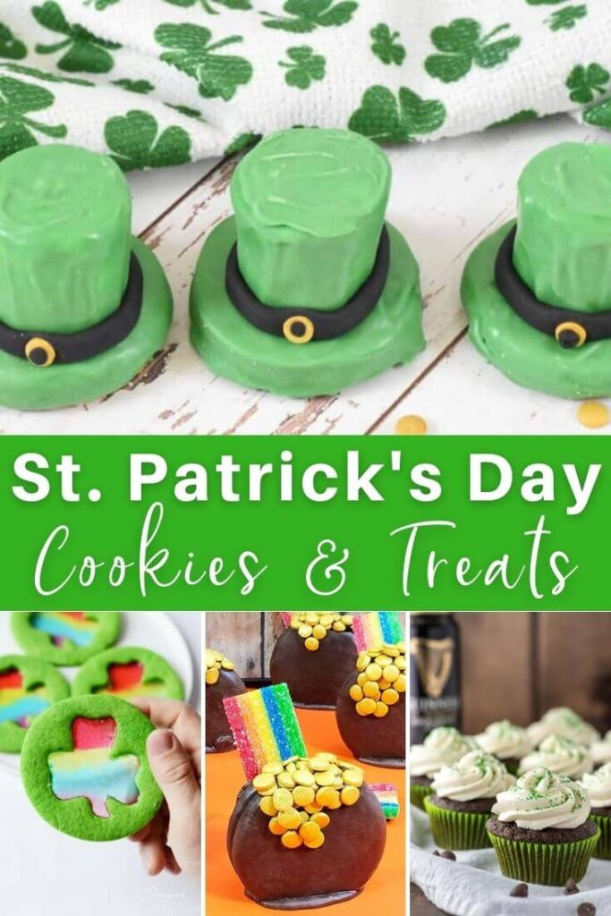 St Patricks Day Desserts Cookies and Treats