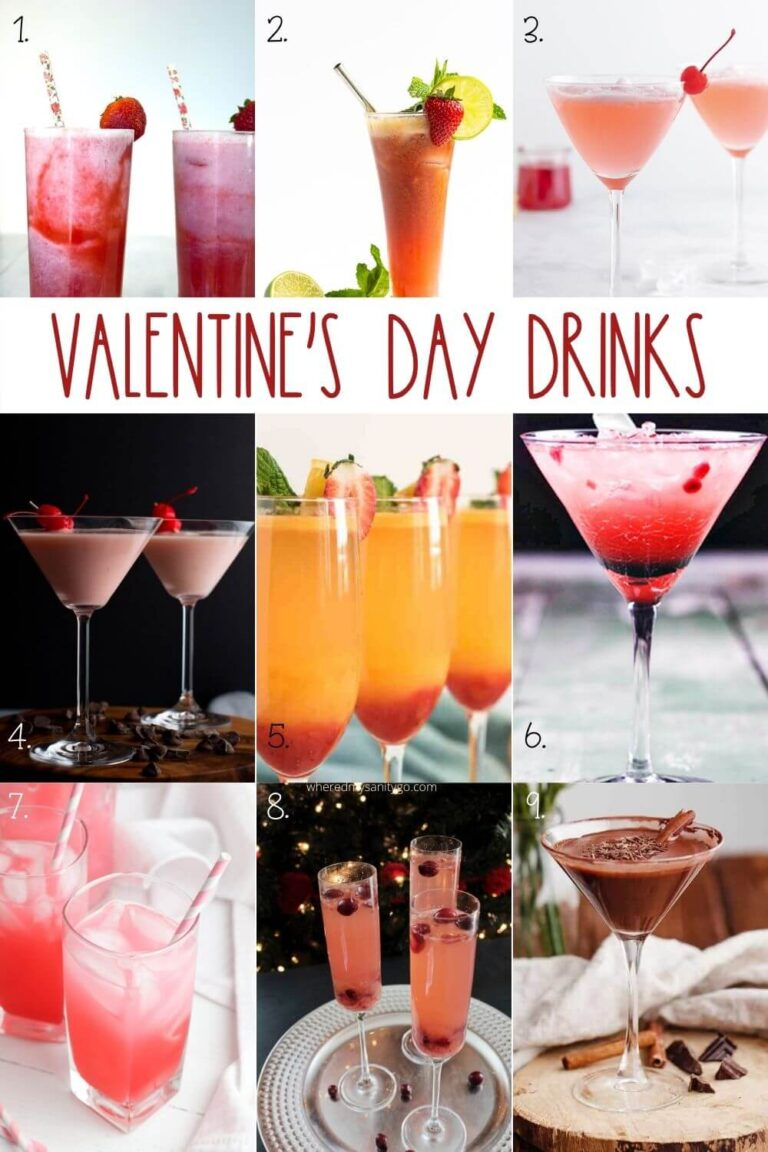 Easy Valentines Day Drinks We Cant Get Enough Of