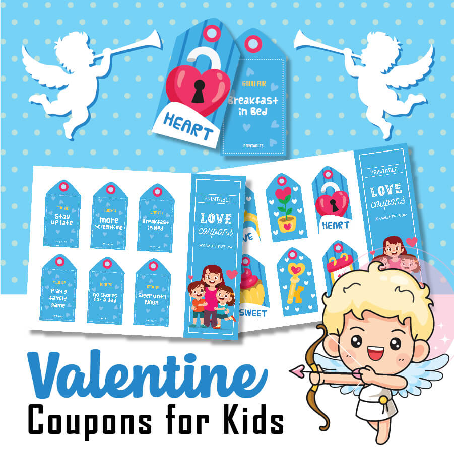 Valentines Coupons for Kids