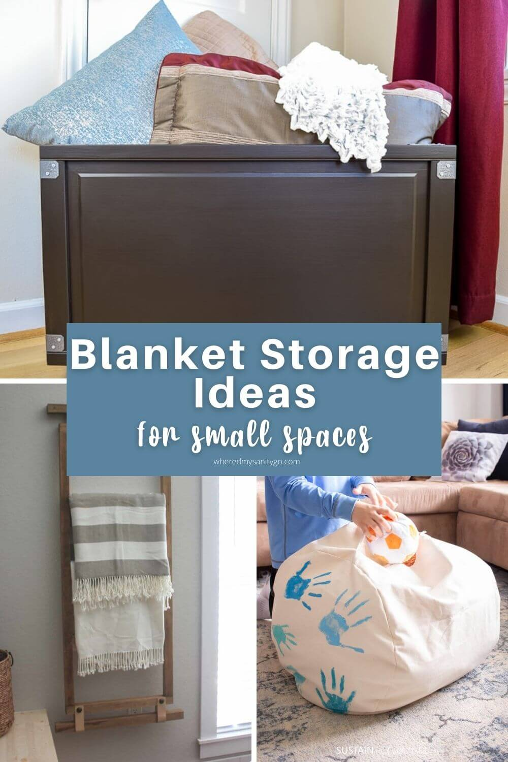 Blanket Storage Ideas for Small Spaces