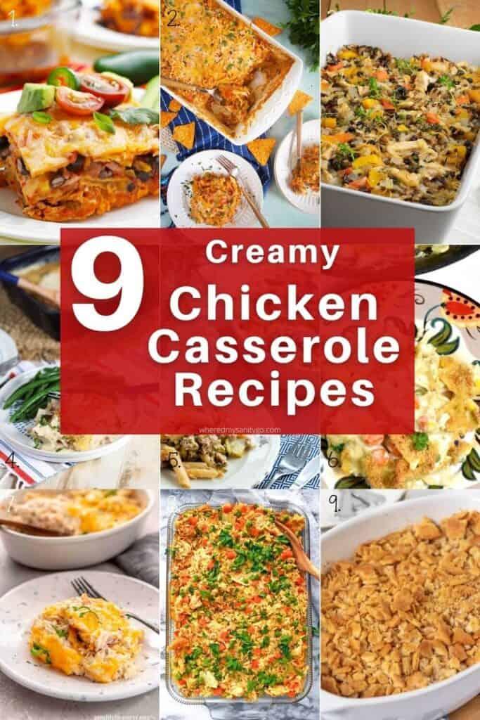 Creamy Chicken Casserole Recipes