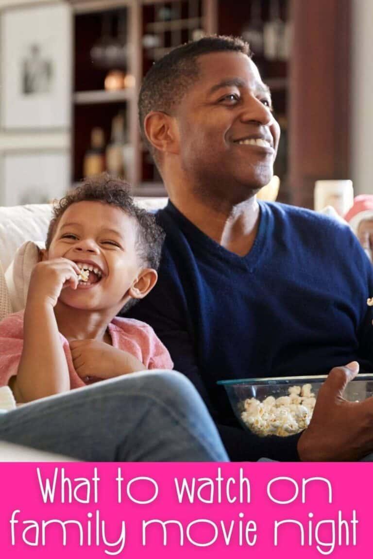 Family Movie Night Movies and Homemade Snacks for Movie Night