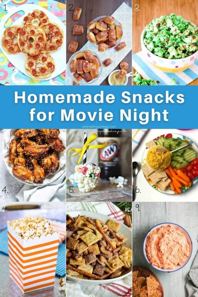 Homemade Snacks for Movie Night