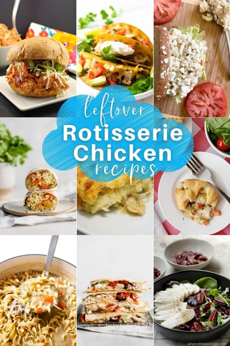 Leftover Rotisserie Chicken Recipes for Busy Weeknights
