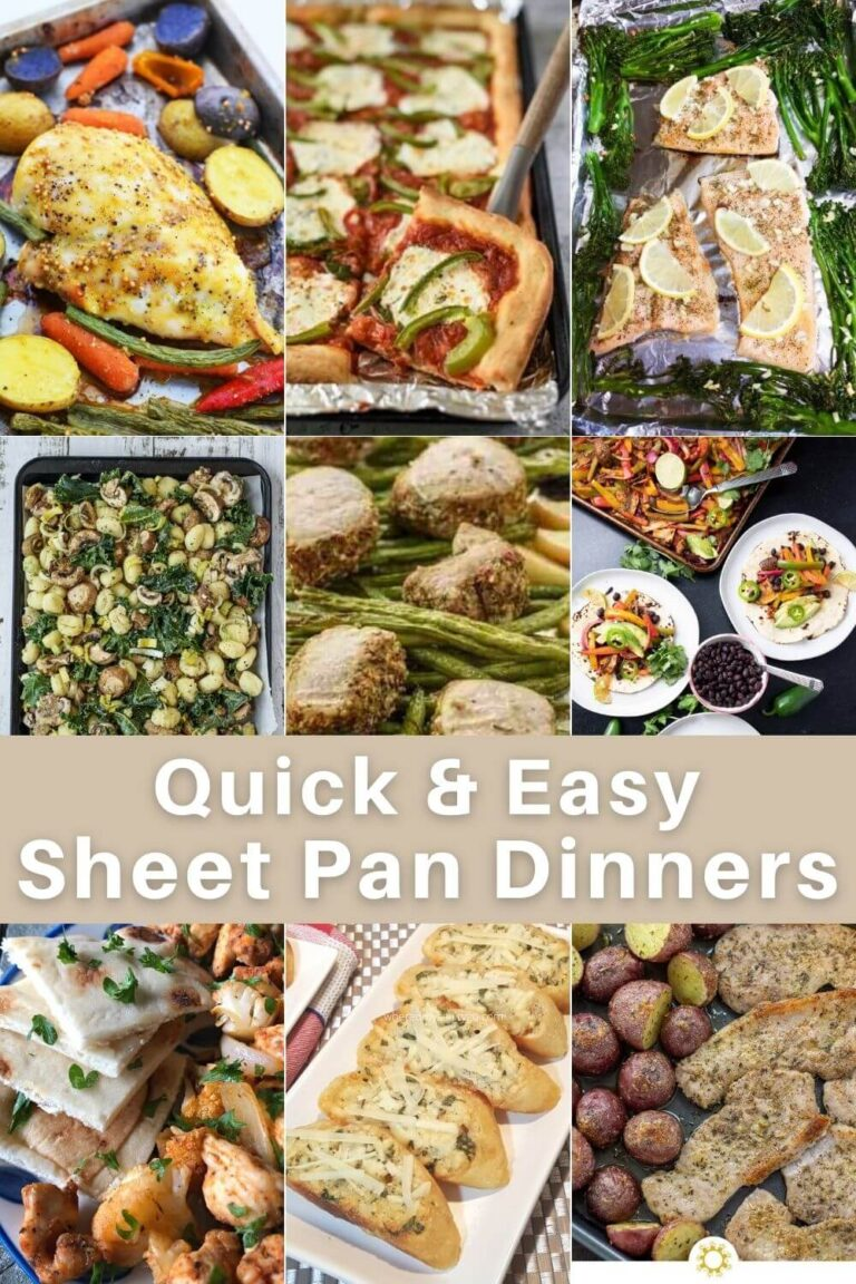 Easy Sheet Pan Dinners That Dont Require A Lot of Work