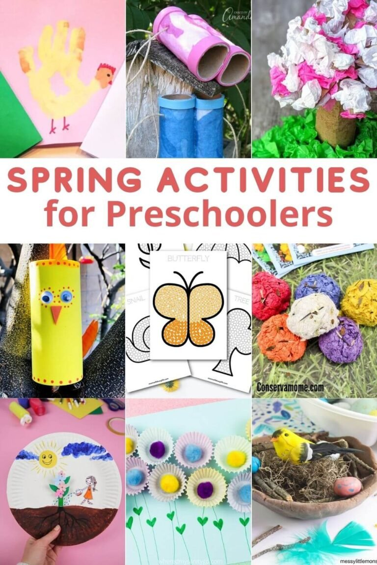 Spring Activities for Preschoolers That Are Educational and Fun