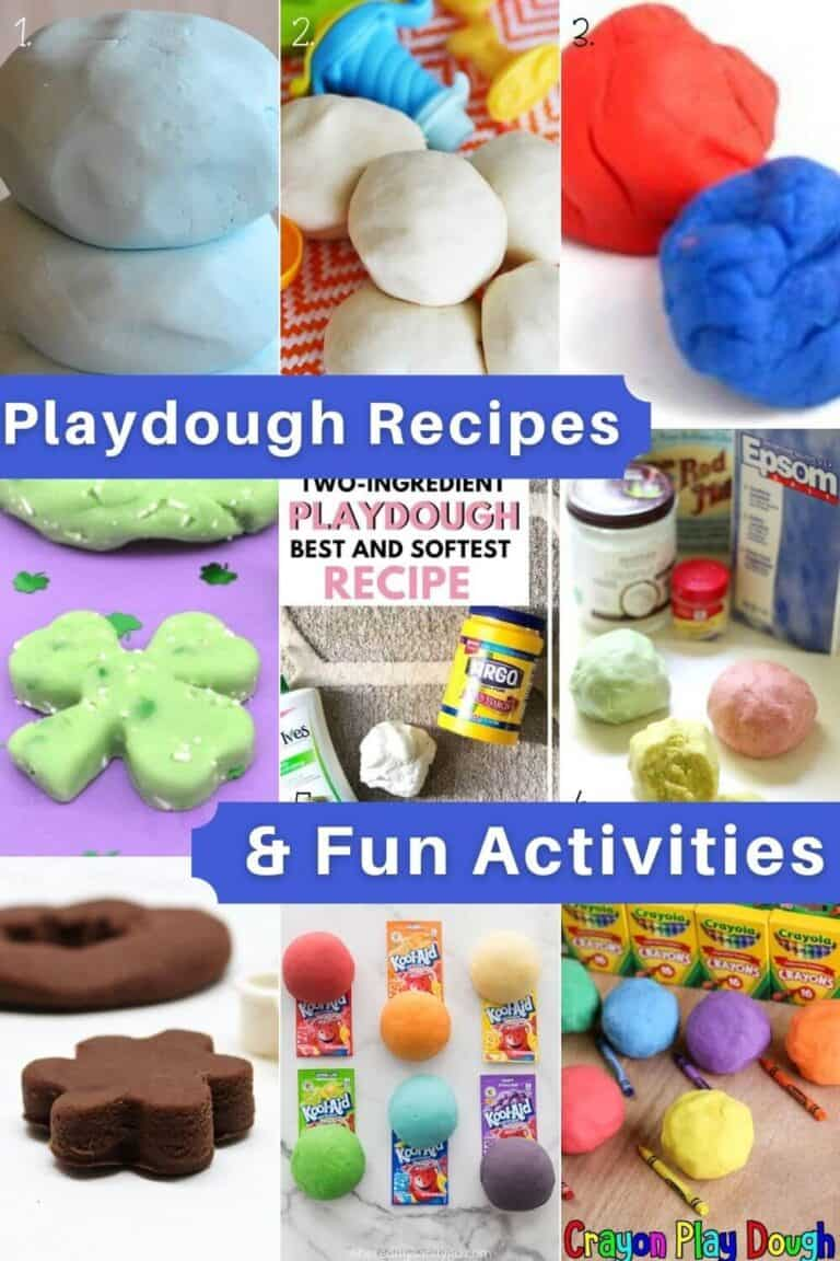 Best Playdough Recipes and Play Doh Activities for Kids