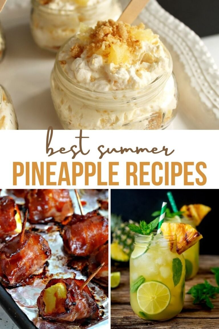 Best Summer Pineapple Recipes From Appetizers to Desserts