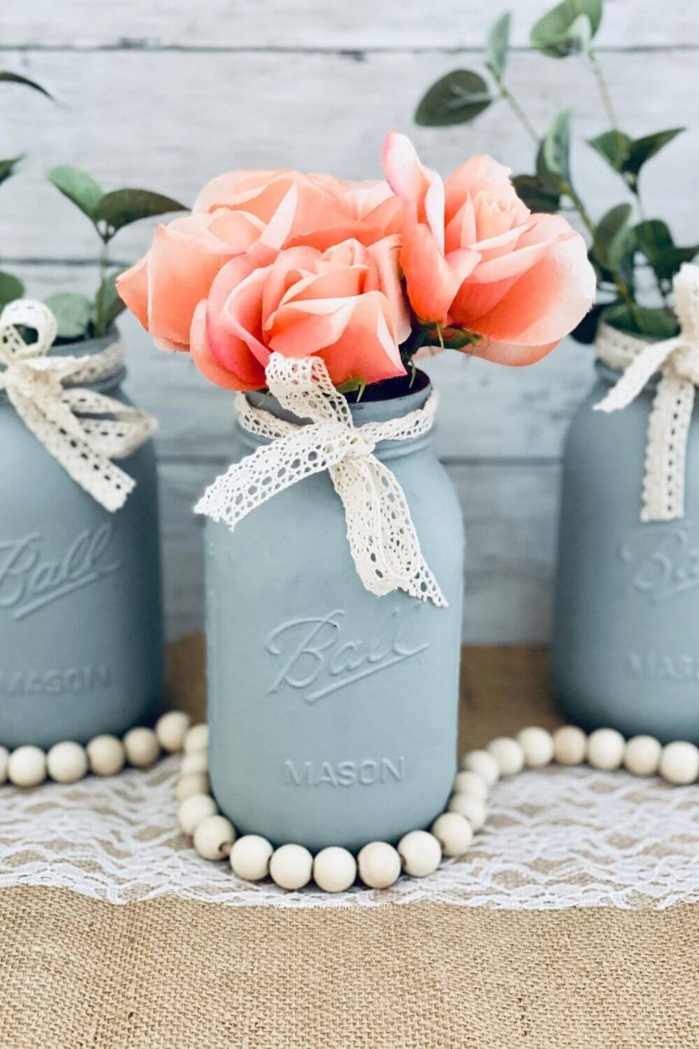 DIY Farmhouse Mason Jars for Decorating Your Home