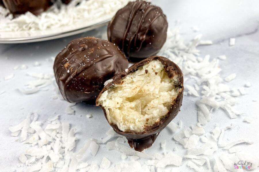 Easy Chocolate Coconut Balls Recipe