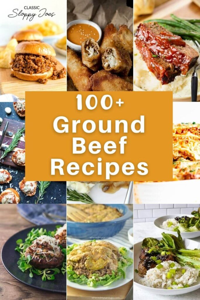 Easy Ground Beef Recipes and Hamburger Dinners