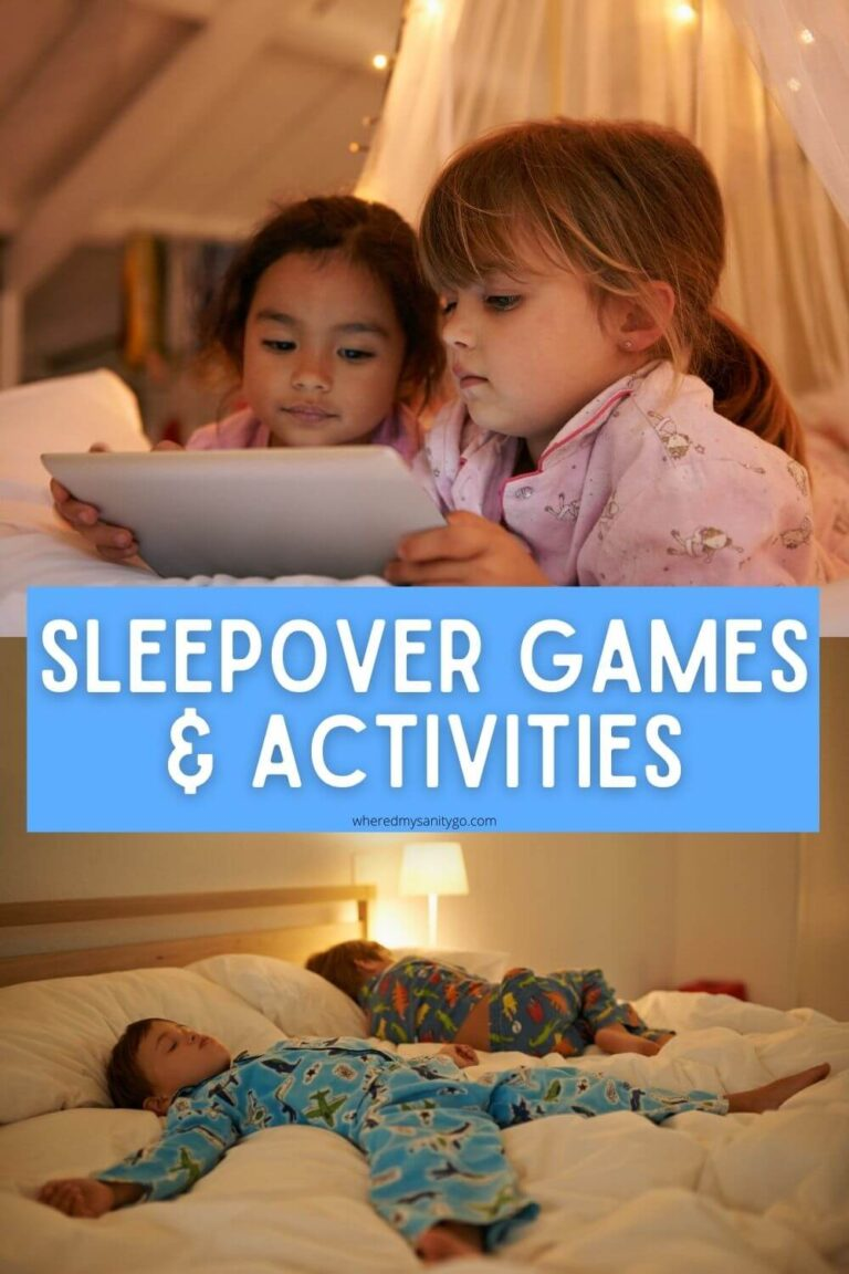 Fun Sleepover Games and Activities for Kids of All Ages