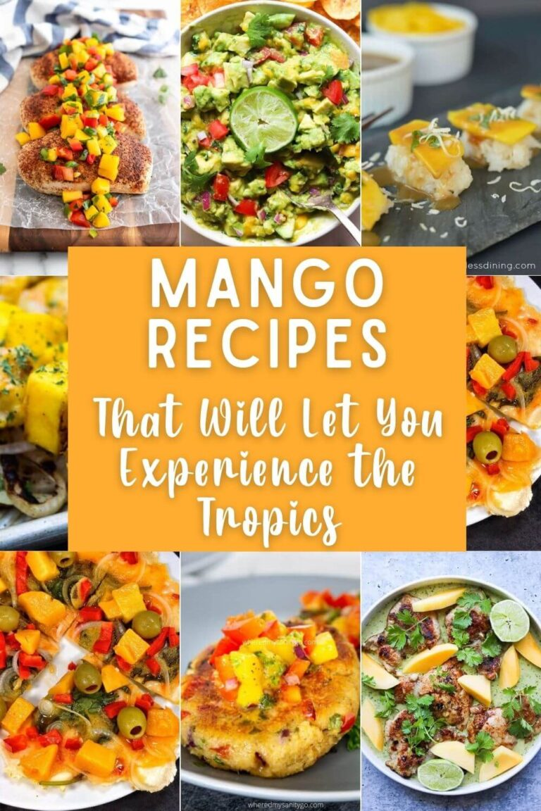 Mango Recipes That Will Let You Experience the Tropics At Home