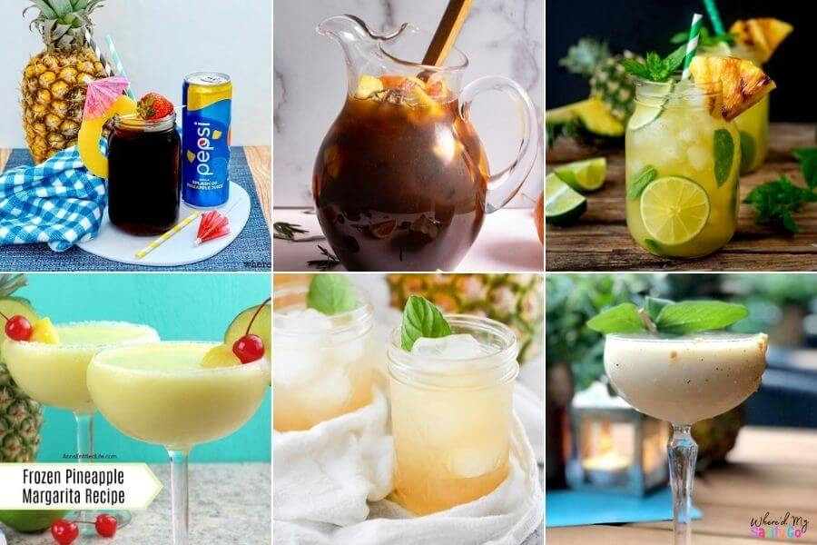 Pineapple Drink Recipes