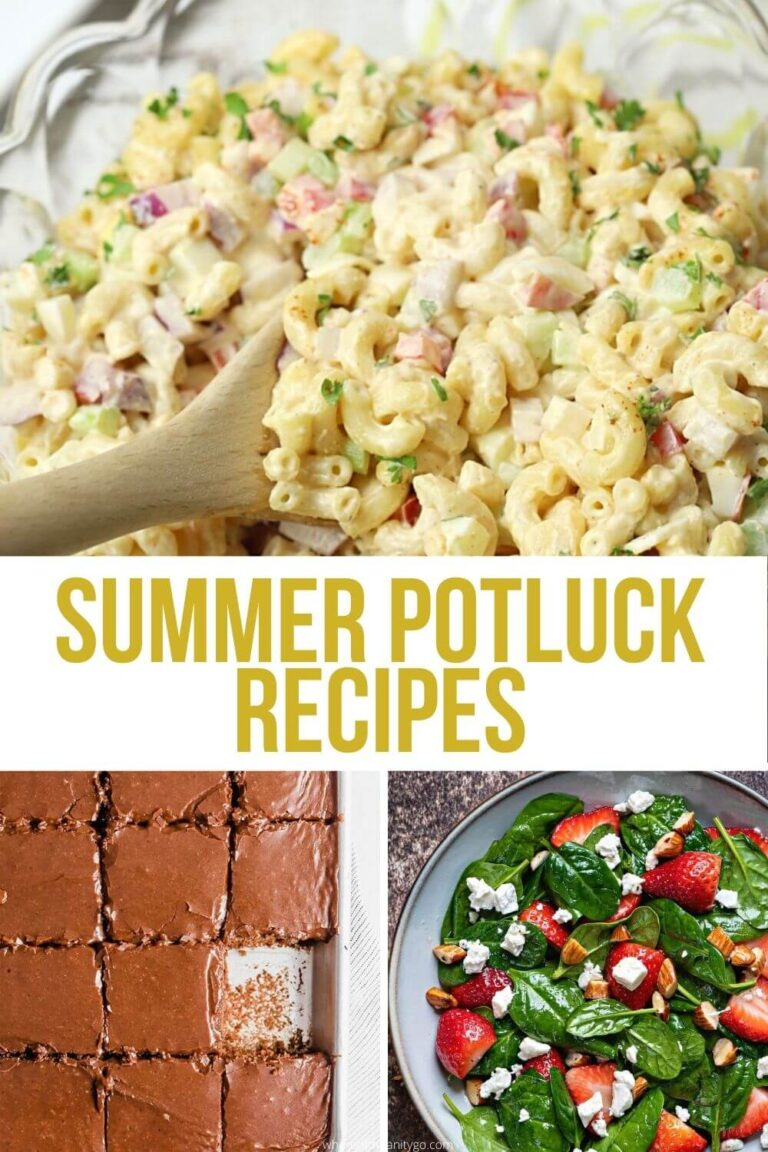 What to Bring to a Potluck: Best Summer Potluck Recipes